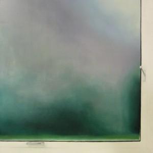 okno iii 2011 olej na platne 100x100