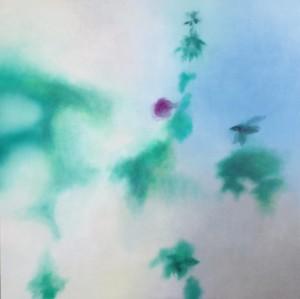 okno vii 2011 olej na platne 100x100 ok